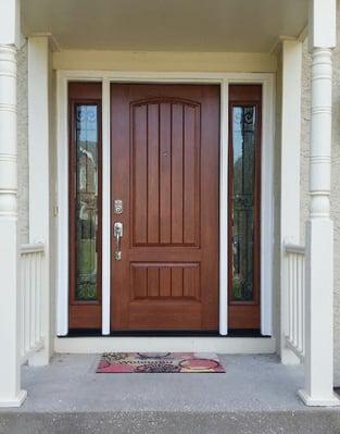 Door after photo