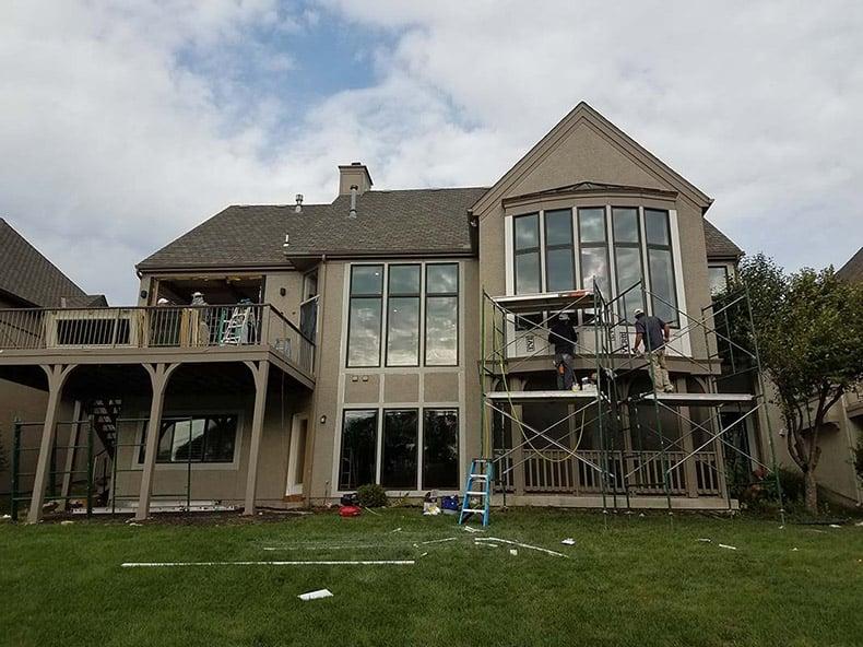 Fiberglass Windows - Overland Park KS home