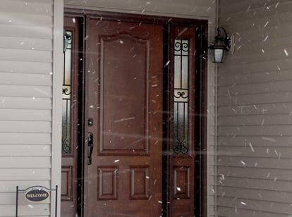 003 snowy - Signet Door