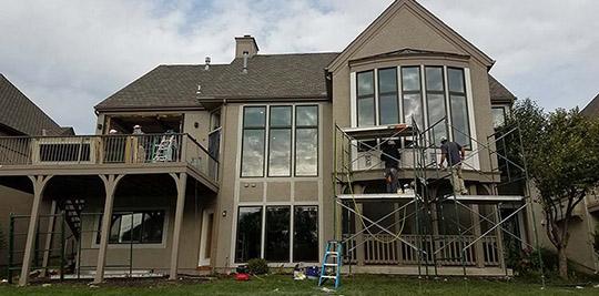 Fiberglass Window Replacement in Overland Park