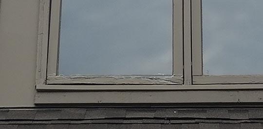 Rotting Wood Casement Windows